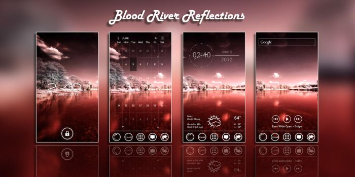 Blood River Reflections by vanessaem
