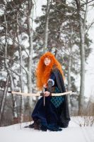 Merida Brave Winter by Re-Aska