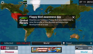 Plague inc. - Flappy Bird by Whetsit-Tuya