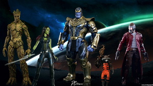 Guardians Of The Galaxy by DavidCreativeDesigns