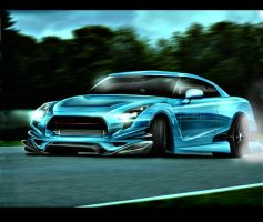 Nissan Gtr R35 by Osman-Design