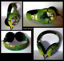 Chipped Paint Headphones by Edge-Works