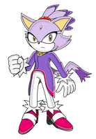 Blaze the Cat SA by Ionic44