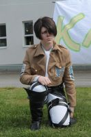 Kawacon 2014 - Levi Rivaille by Cinnec
