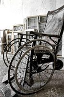 Antique Wheelchair by basseca