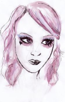 Pink Alice by Ellie--Jelly