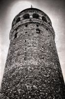 Galata Tower by Monotrooper