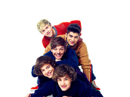 One direction PNG by bigtimerushArgentina