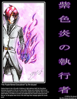 The Purple-flamed Executioner by fire-doused