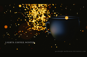 LIGHTS.COFFEE.WINTER by Goodnight-Melbourne