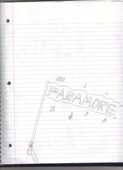 Paramore Flag by Mykul1