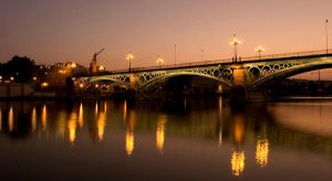 Bridge over Guadalquivir River by Choogster
