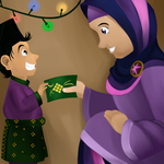 Green Packets of Eid by poecillia-gracilis19