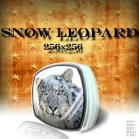 Snow Leopard Icon by centpushups