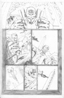 Hawk and Dove Page 09 by SeanLeeArt