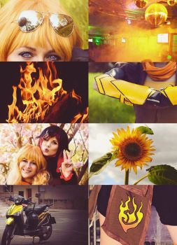Yang Xiao Long aesthetic by Vampyna