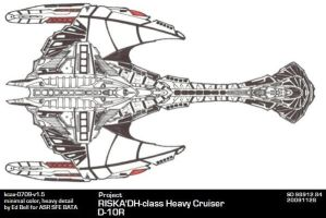 Ships of ASR-Klingon-D-10R by GhostRider2007