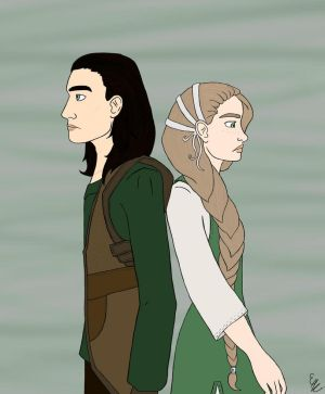 Loki and Sigyn