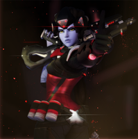 Widowmaker - Shot Dead by EvilPowny