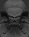 Demon's Face_WIP by KaueDalcin