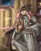 The pink witch by kango67