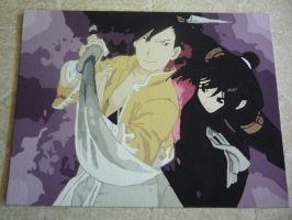 Ling Yao and Lan Fan painting by TrifinityVortex