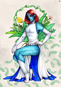 Pin-up Mystique by MadBlackie