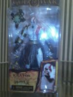 God Of War II Kratos Golden Fleece Action figure by godofwarlover