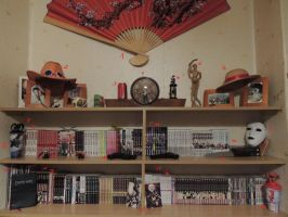 My collection of manga XD by Rej-kun