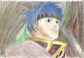 Ike in the forest... by Sephiano