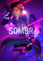 Sombra - Overwatch by Ayane45