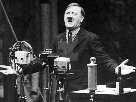 adolf hitler speech  by Kriegspanzerss