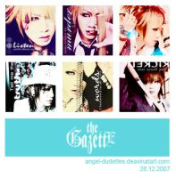 The GazettE Icon Set by angel-dudettes
