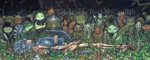 Funeral for a Long Dead Knight by jasminetoad