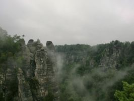 Elbe-Sandstone-Mountains 3 by Sabbelbina