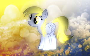 [1 Year Anniversary] Derpy Hooves Wallpaper by EnemyD