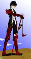 Roxas Stanner 3rd Phase Demon Form by Roxasdeath