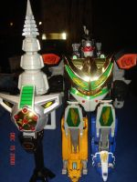 MMPR Dragonzord in Battle Mode by kilp007