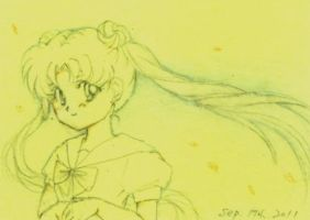 Sailor Moon Usagi doodle by Yuko-Rann
