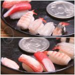 1:6 scale assorted miniature sushi 1 by Snowfern