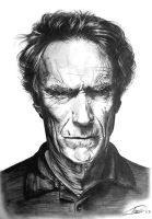 Clint Eastwood by dinodevic12