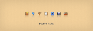 delight psd icons by LeMex