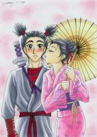 Adult Pucca and Garu by Violafuchs