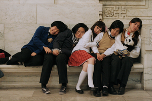 Gakuen - Sleeping Asians by loveanime