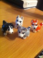 Ginga keychains by JenJen88