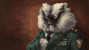 Colonel Meow - Wallpaper by Chronoperates