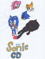 Sonic CD fanmade poster by Piplup88908