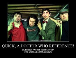 Motivation - Quick, a Doctor Who Reference! by Songue