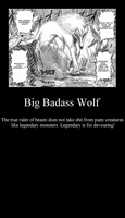 Big Badass Wolf by Kalduin