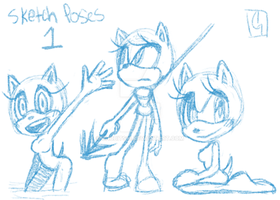 Sketch Poses 1 by Chobits13